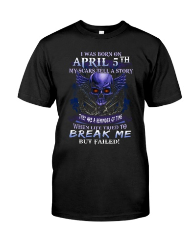 5 april  break me