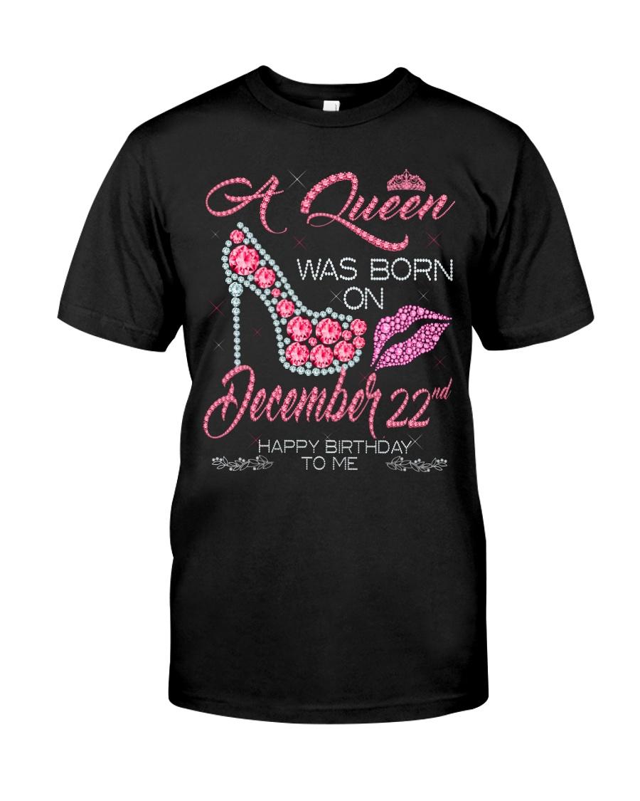 December Queen 22 Classic T-Shirt