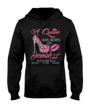 December Queen 22 Hooded Sweatshirt thumbnail