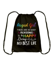 August Queen Drawstring Bag thumbnail