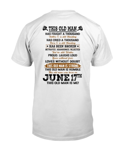 17 june this old man