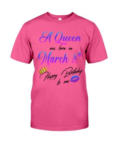 26 march a queen