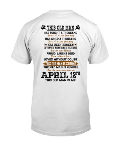 12 april this old man