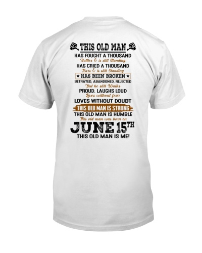15 june this old man