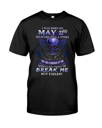 22 may break me