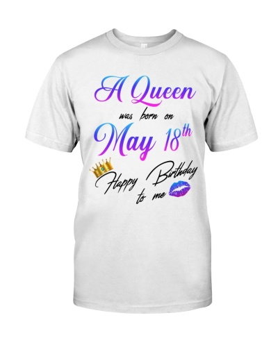 18 may a queen
