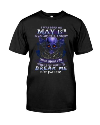 13 may break me