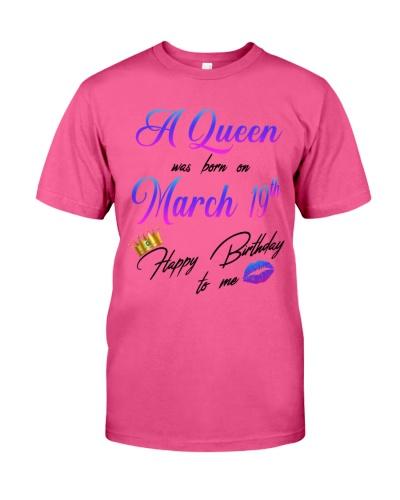 19 march a queen