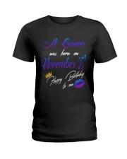 November Queen 25 Ladies T-Shirt thumbnail