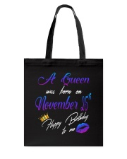November Queen 25 Tote Bag thumbnail