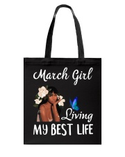 March Queen Tote Bag tile