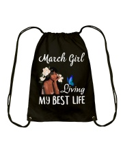 March Queen Drawstring Bag thumbnail