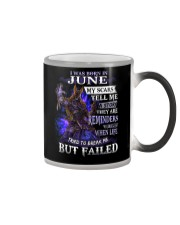 June Men Color Changing Mug thumbnail