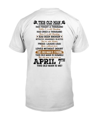 7 april this old man
