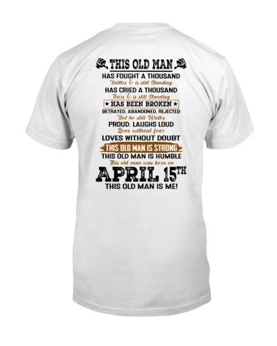 15 april this old man