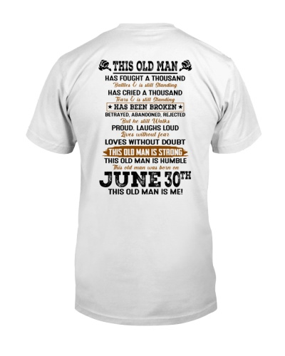 30 june this old man