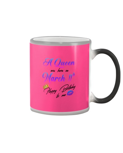 11 march a queen