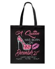 December Queen 21 Tote Bag thumbnail