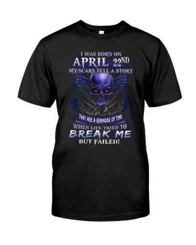 22 april  break me