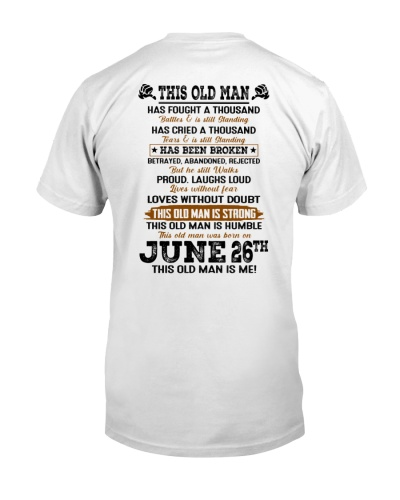 26 june this old man