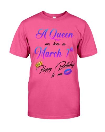7 march a queen