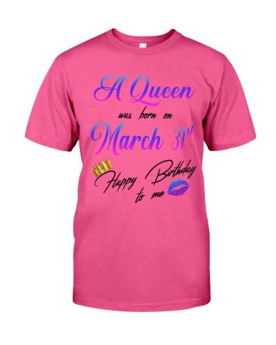 31 march a queen