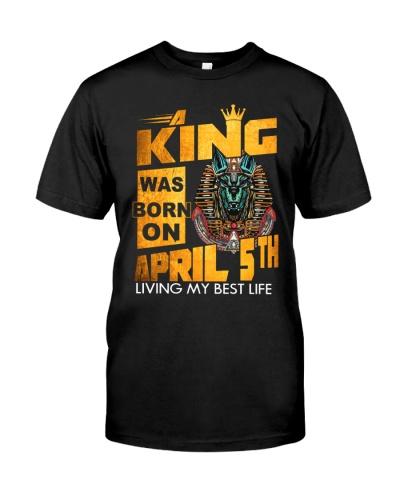 5 april black king