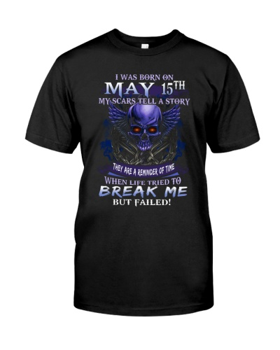 15 may break me