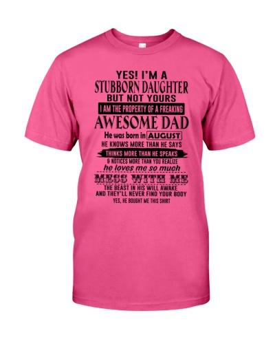 8 stubborn daughter