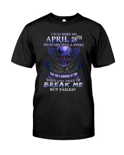 28 april  break me