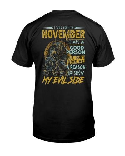 November My Evil Side