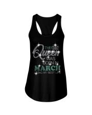 March Queen 00 Ladies Flowy Tank thumbnail