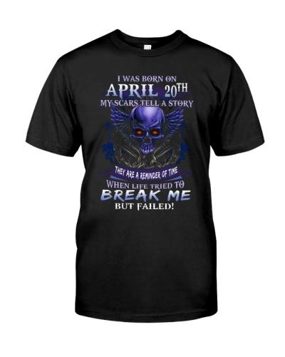 20 april  break me