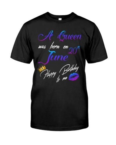 20 june a queen