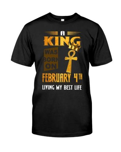 4 february king