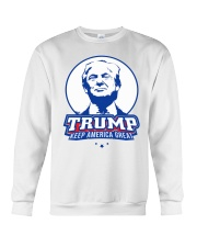 Trump Keep America Great Crewneck Sweatshirt thumbnail
