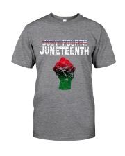 Juneteenth Since 1865 Classic T-Shirt front