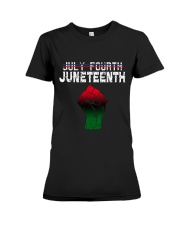 Juneteenth Since 1865 Premium Fit Ladies Tee thumbnail