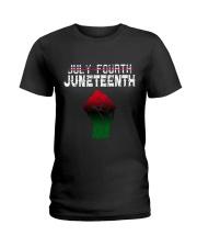 Juneteenth Since 1865 Ladies T-Shirt thumbnail
