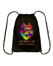 Life is better with a Husky Drawstring Bag thumbnail