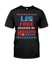 My Husband is Brave Classic T-Shirt tile