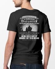 I love my daughter Classic T-Shirt lifestyle-mens-crewneck-back-5