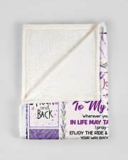 "Love You To The Moon And Back Blanket Small Fleece Blanket - 30"" x 40"" aos-coral-fleece-blanket-30x40-lifestyle-front-17"