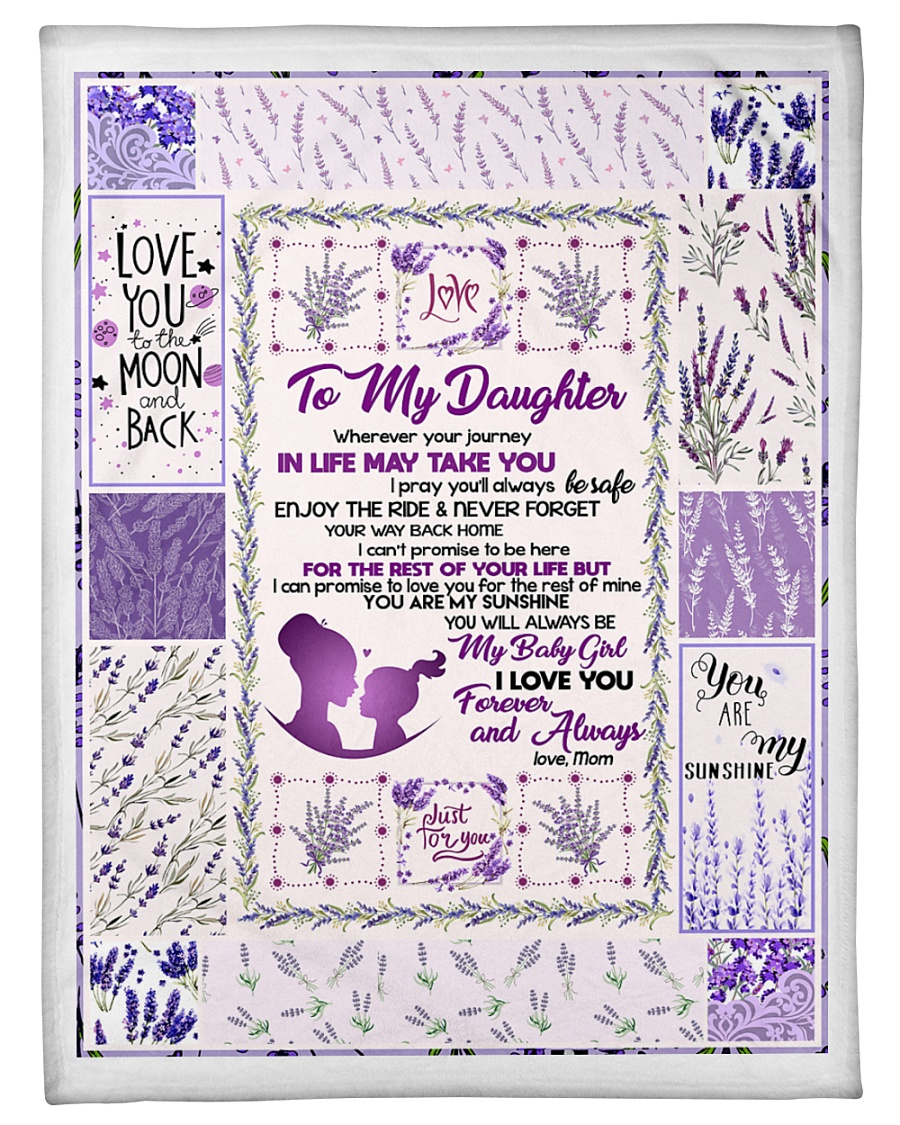 "Love You To The Moon And Back Blanket Small Fleece Blanket - 30"" x 40"""
