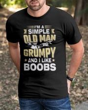 I'm Grumpy T-Shirt Classic T-Shirt apparel-classic-tshirt-lifestyle-front-52