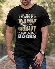 I'm Grumpy T-Shirt Classic T-Shirt apparel-classic-tshirt-lifestyle-front-53