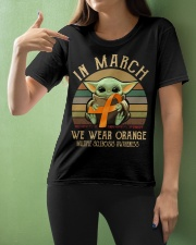 In March we wear orange Vintage Multiple Sclerosis Ladies T-Shirt apparel-ladies-t-shirt-lifestyle-front-10