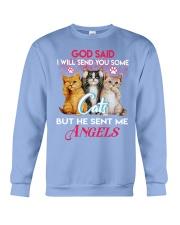 He sent me Angels Crewneck Sweatshirt thumbnail