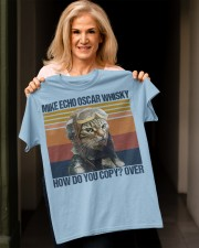Mike echo oscar whisky how do you copy-over Classic T-Shirt apparel-classic-tshirt-lifestyle-front-118