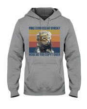 Mike echo oscar whisky how do you copy-over Hooded Sweatshirt thumbnail